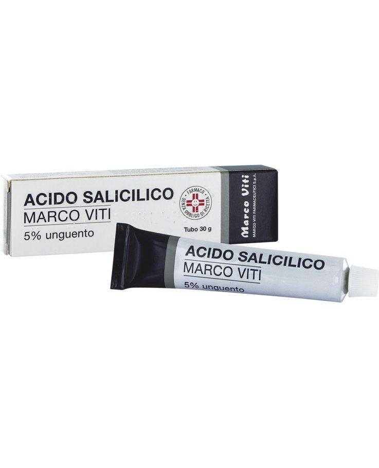 Acido Salicilico Mv*5% Unguento 30g