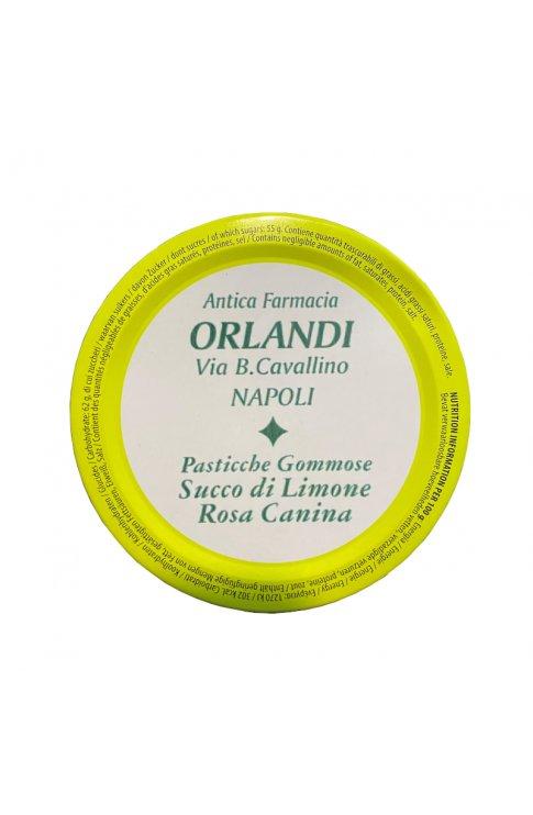 Caramelle Gommose Orlandi Limone E Rosa Canina