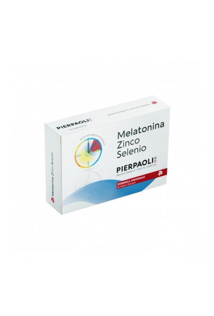 Melatonina Zinco Selenio 30 Compresse Pierpaoli