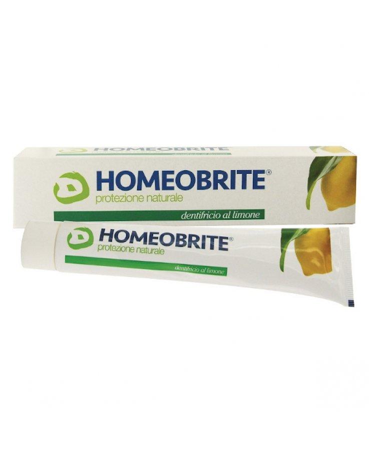 Homeobrite Dentifricio Limone 75ml Cemon