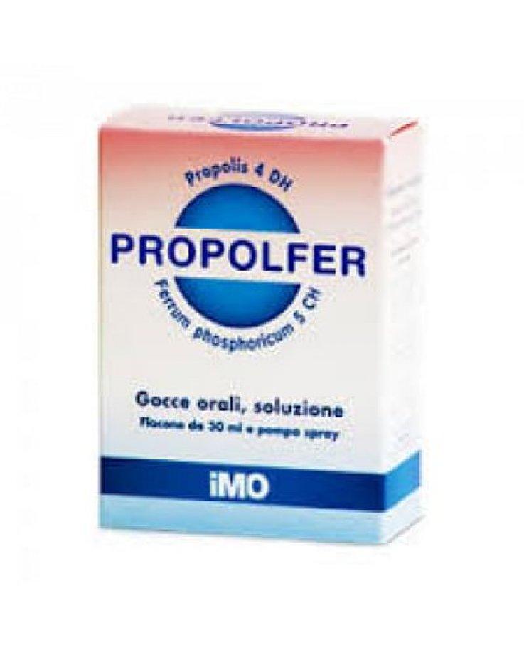 Propolfer Orali Gocce Senza Alcol 30 Ml