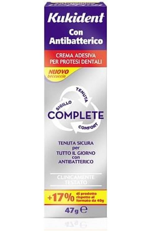 Adesivo Per Protesi Dentaria Kukident Antibatterico Crema 47 G