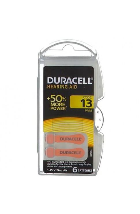 Duracell Easy Tab 13 Arancio Batteria Per Apparecchio Acustico