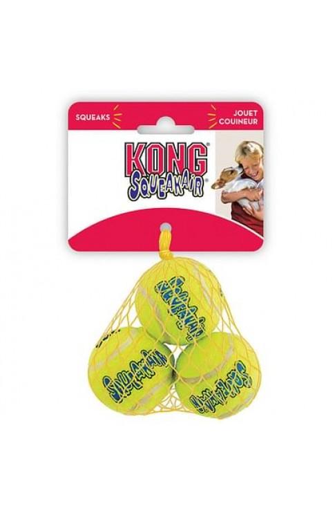 Air Kong Squeaker Tennis Balls 3 Pezzi