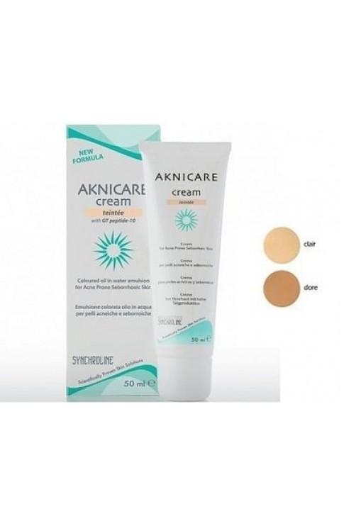 Aknicare Cream Crema Colorata Teintee Dore' 50 Ml