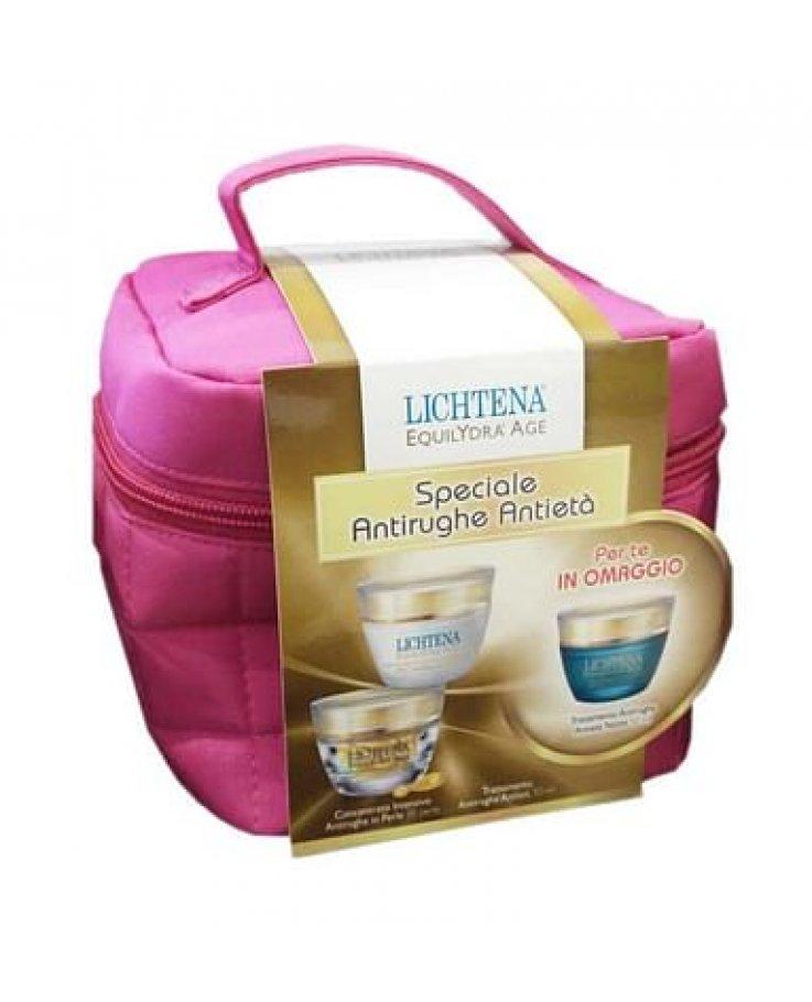 Equilydra Trousse Antieta' Contenente Crema Antirughe 50 Ml+ Concentrato Intensivo Perle + Crema Notte Antirughe 50 Ml Omaggio