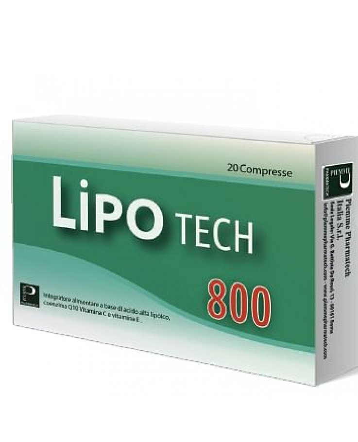 Lipotech 800 20 Compresse
