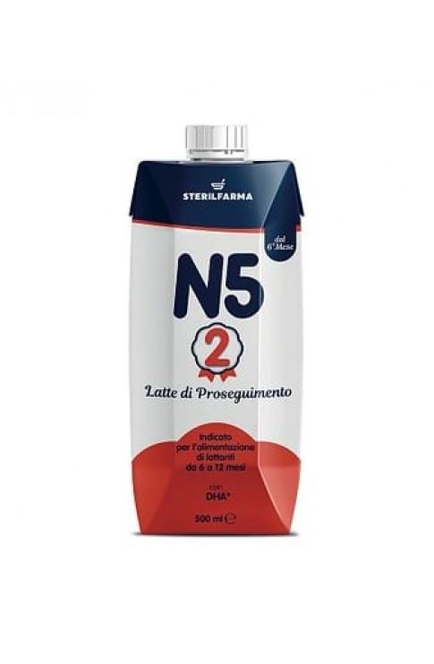 N5 2 Latte Di Proseguimento Liquido 6 12 Mesi 500 Ml