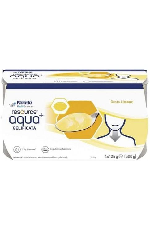 Resource Aqua Acqua Gelificata+Lemon Cup 6 4x125 G