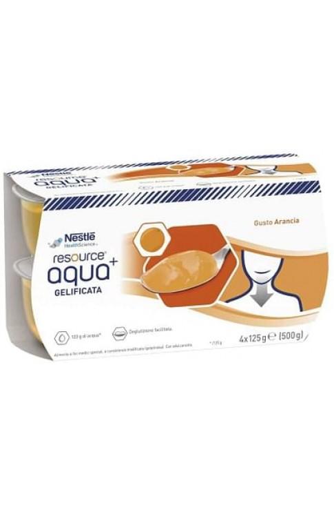 Resource Aqua Acqua Gelificata+Orange Cup 6 4x125 G