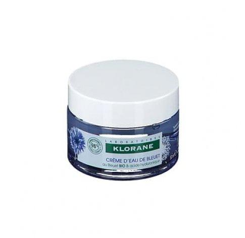 Klorane Gel Crema Risveglio Fresco Fiordaliso Bio Acido Ialuronico 50 Ml