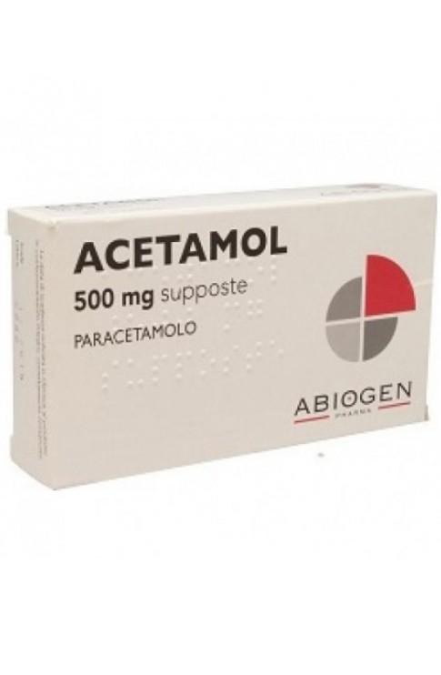 Acetamol*bb 10supp 250mg
