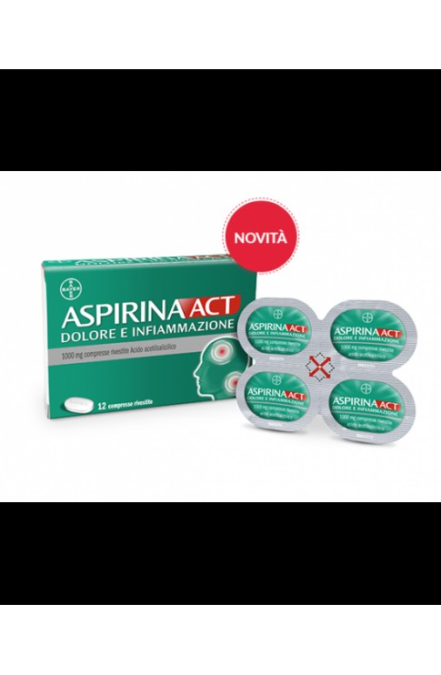 ASPIRINA ACT DOL&INF.12 Cpr