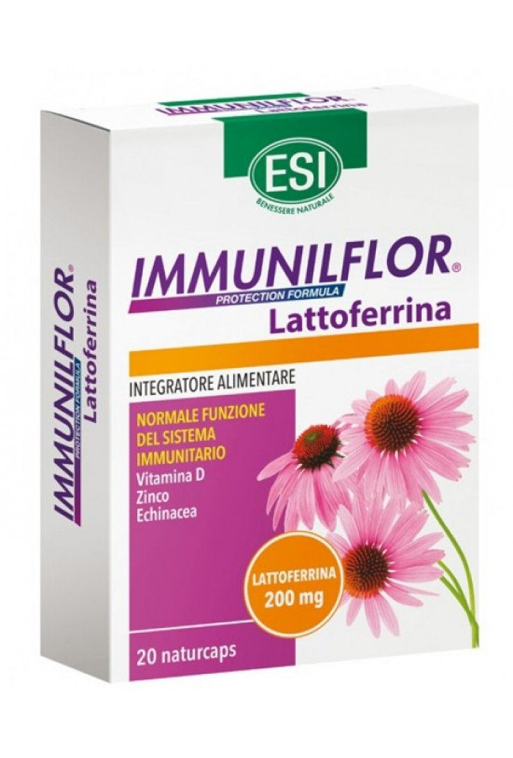 IMMUNILFLOR Lattoferrina 20Cps