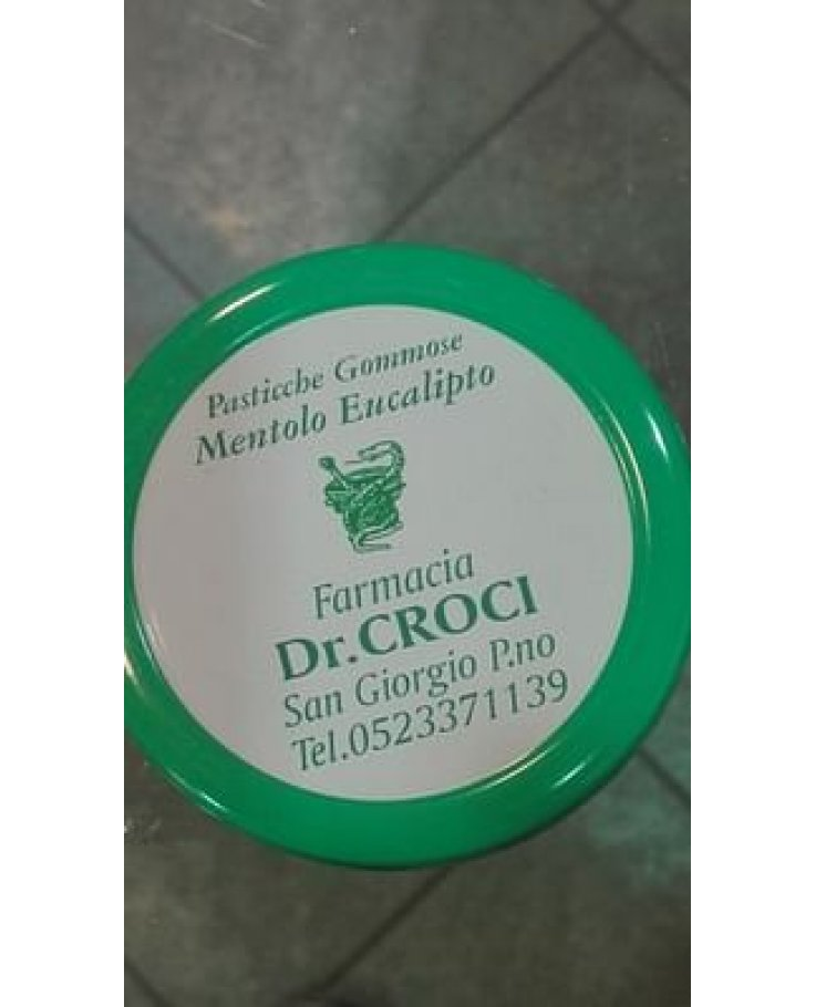 Pasticche Gomm Mentolo/eucal50