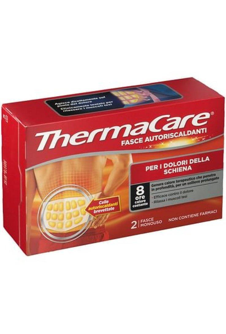 Fascia Autoriscaldante A Calore Terapeutico Thermacare Schiena 2 Pezzi