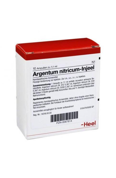 Argentum Nitricum Injeel 10 Fiale Heel