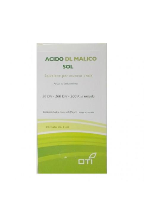 Acido Dl Malico Soluzione 20 Fiale OTI