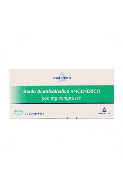 Acido Acetilsalicilico 20 Compresse 500mg Angelini