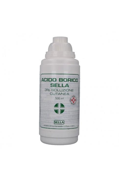 Acido Borico Sella 3% 500ml