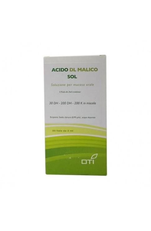 Acido Dl Malico Soluzione 20 Fiale 2ml Oti