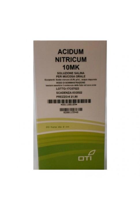 Acidum Nitricum 10 Mk 20 Fiale OTI