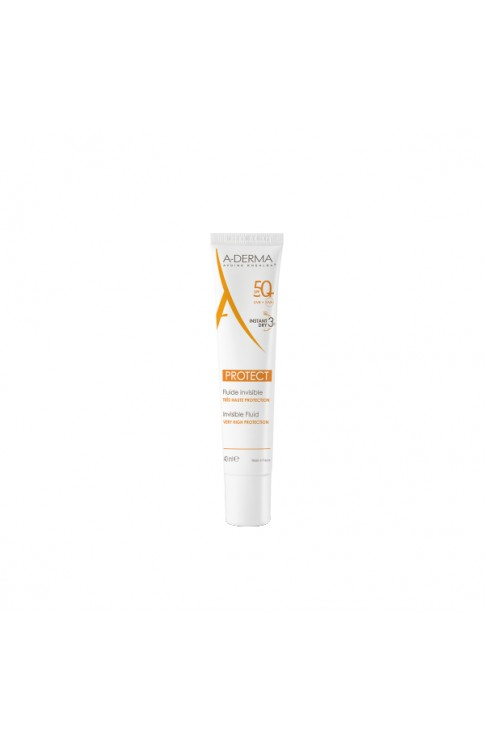Aderma Protect 50+ Fluido Invisibile 40ml