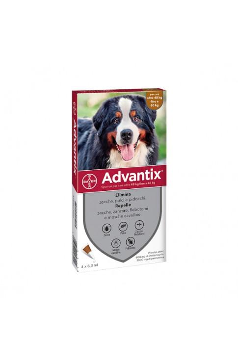 Advantix Spot - On 4 x 6 ml 40 - 60 Kg
