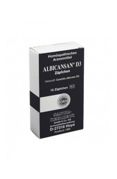 Albicansan D3 10 Supposte