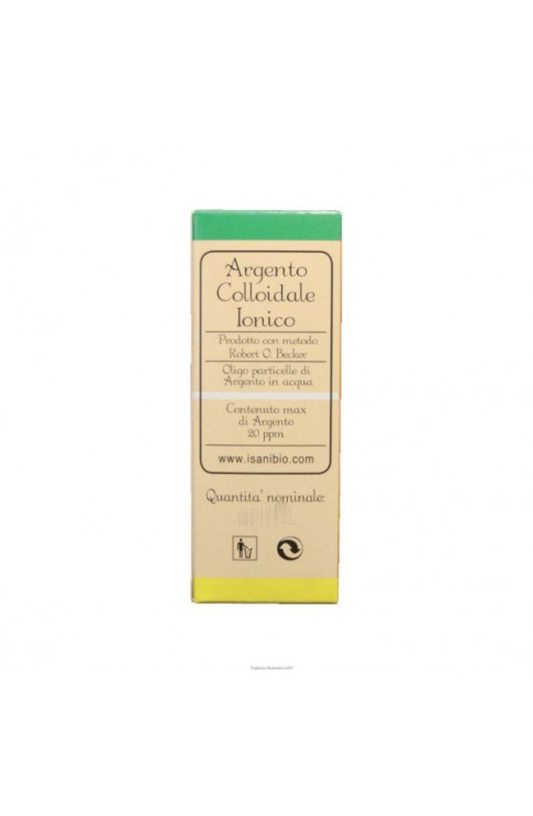 Argento Colloidale Ionico 20Ppm 50 ml