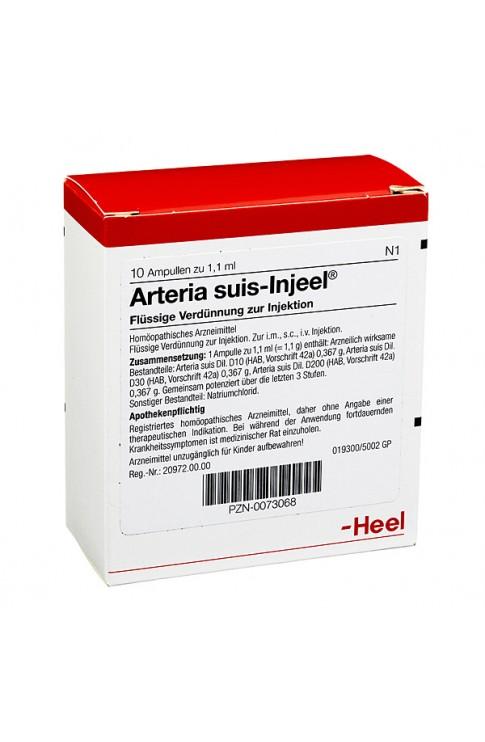 Arteria Suis Injeel 10 Fiale 1,1 ml Heel