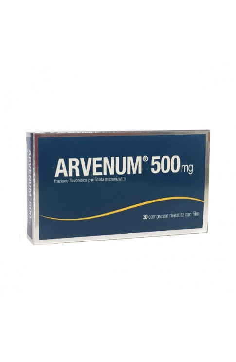 Arvenum 500mg 30 Compresse Rivestite