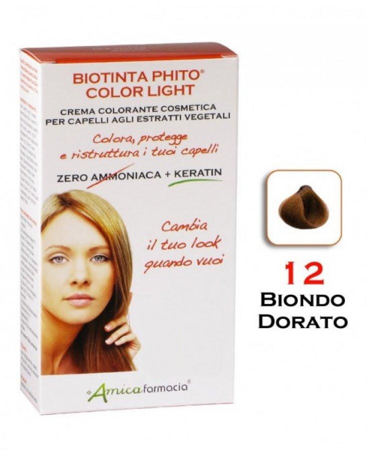 Biotinta Phito Light 12 Biondo Dorato