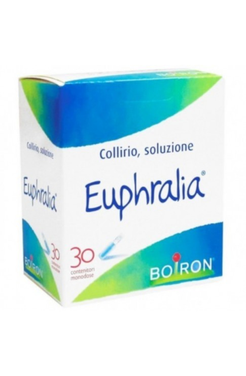 Boiron Euphralia Collirio Monodose 30 Fiale 0,4ml