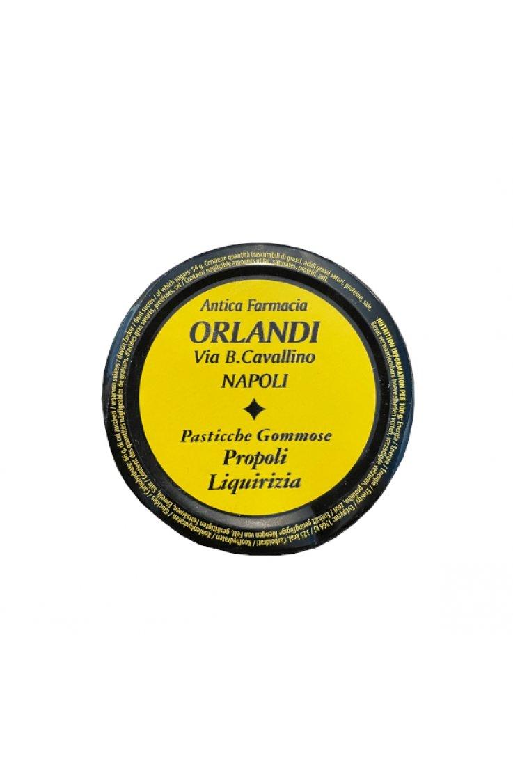 Pasticche Gommose Propoli Liquirizia 50g