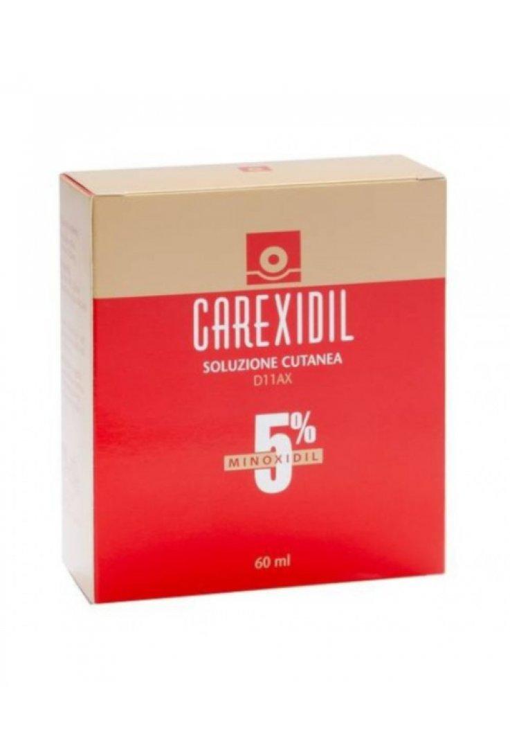 Carexidil 5% Soluzione Cutanea 3 Flaconi
