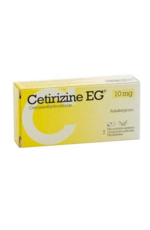 Cetirizina EG 10mg 7 Compresse