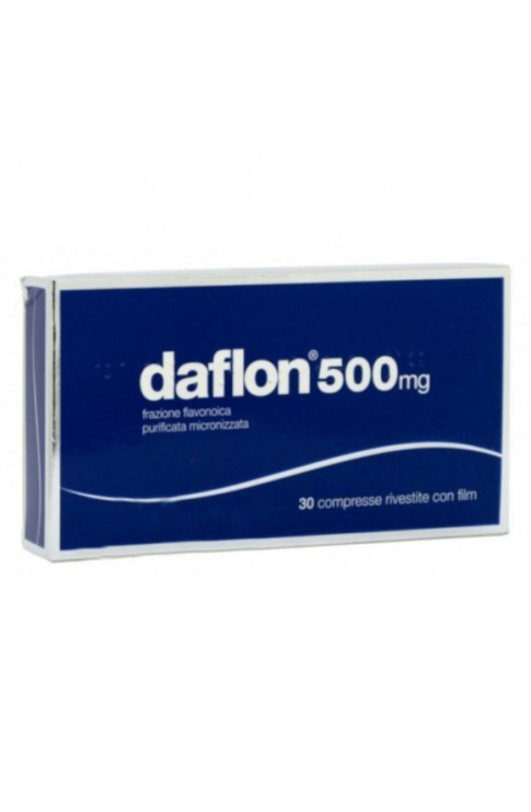 Daflon 500mg 30 Compresse Rivestite