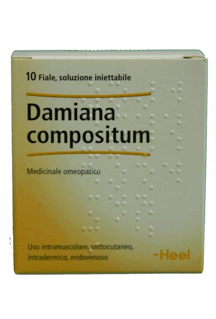 Damiana Compositum 10 fiale 2,2ml Heel