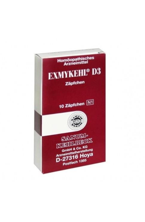 Exmykehl D3 10 Supposte 2g Sanum