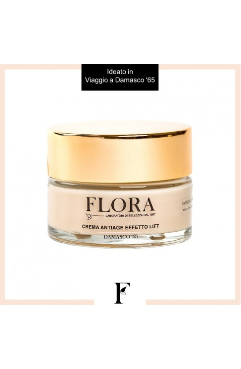 Flora Crema Anti-age Effetto Lift Damasco '65 50ml