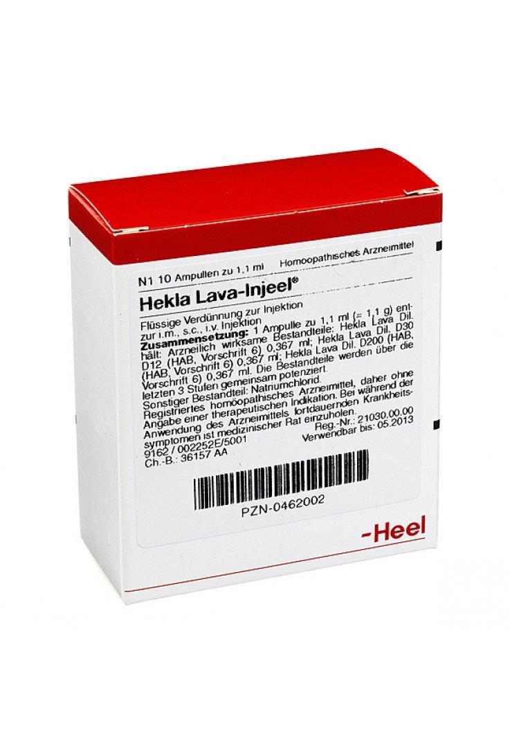 Hekla Lava Injeel 10 Fiale 1,1 ml Heel