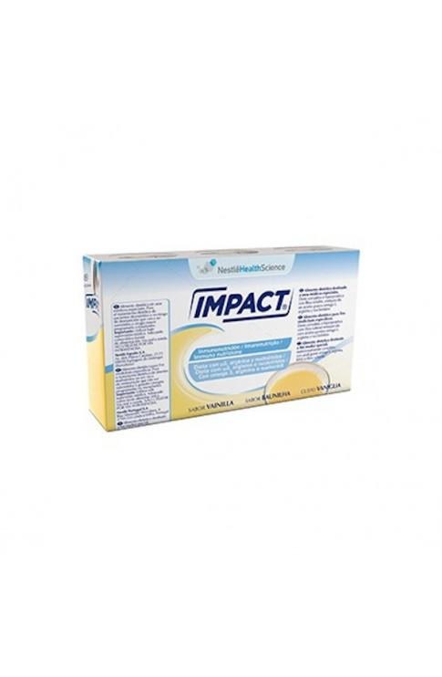 Impact Oral Vaniglia 3x237ml Nestlè