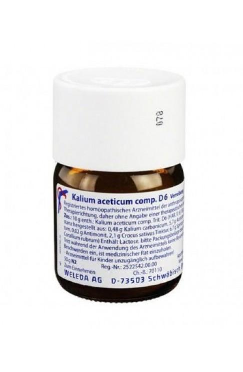 Kalium Aceticum Compositum D6 50g Trituration