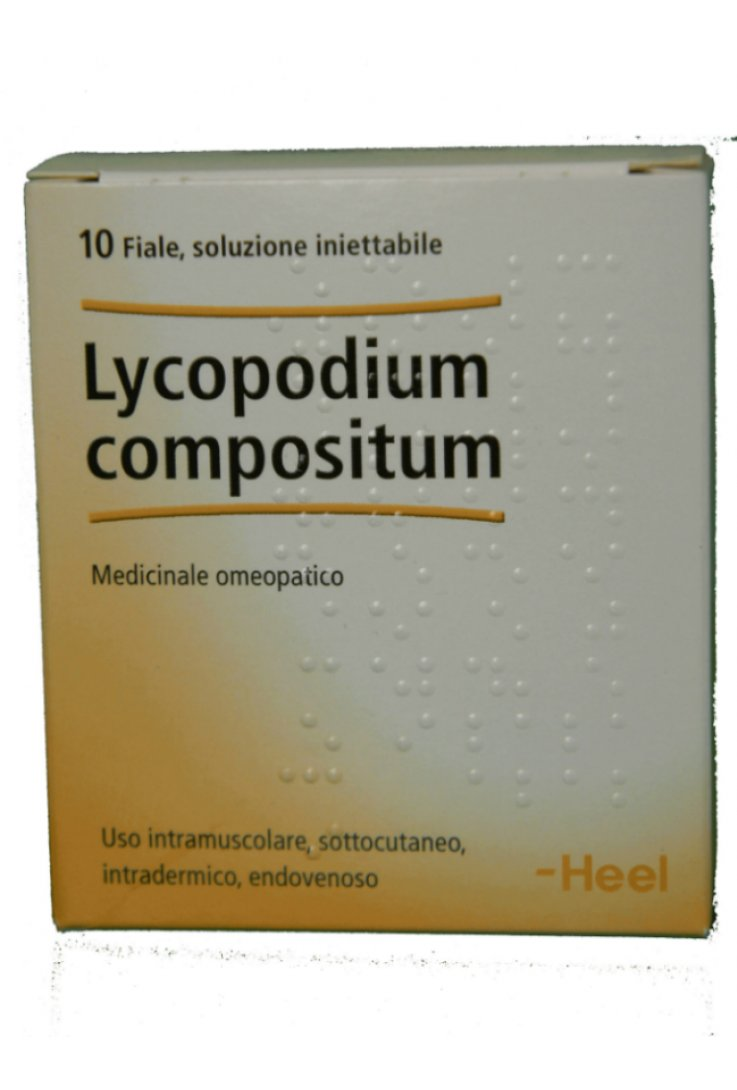 Lycopodium Compositum 10 Fiale 2,2ml Heel