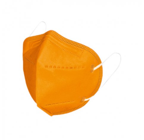 Mascherina Ffp2 1 Pezzo Arancione