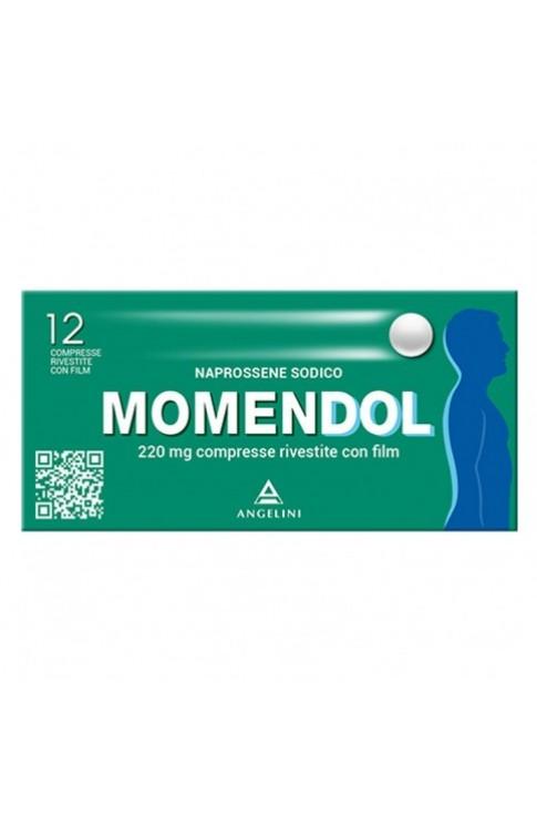 Momendol 12 Compresse Rivestite 220 mg
