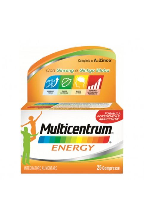 Multicentrum Energy 25 Compresse