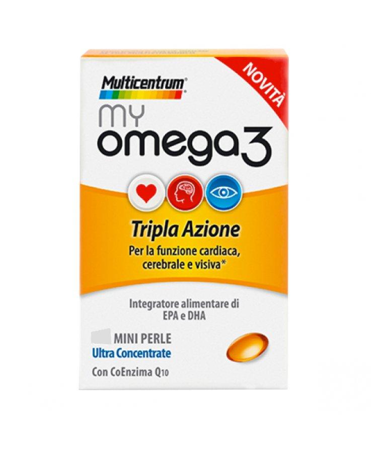 Multicentrum My Omega3 120 Perle