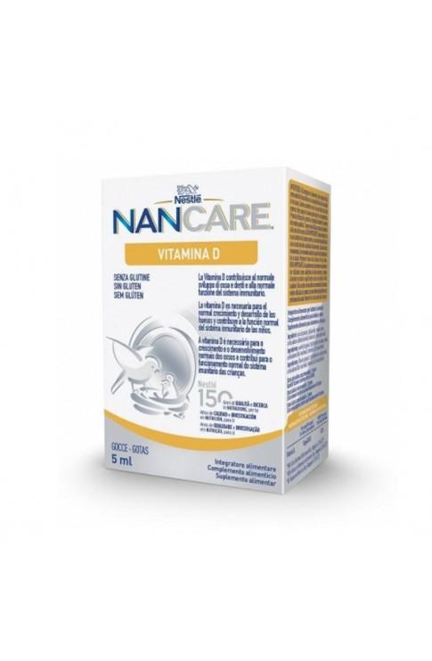 Nancare Gocce Vitamina D 5ml